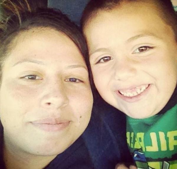 安東尼往生後,其阿姨瑪莉亞.巴倫(Maria Barron)在臉書上,不舍地貼出與他的合照。(圖擷取自Maria Barron臉書)