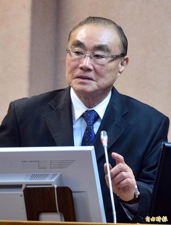 立法院國防外交委員會,國防部長馮世寬列席報告並備詢。(記者王藝菘攝)