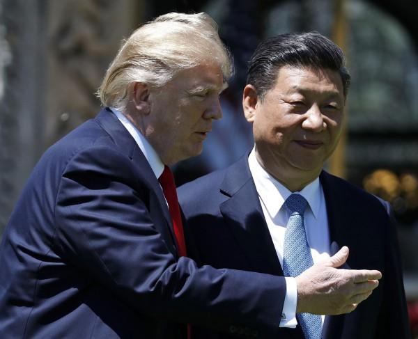 處理北韓核武威脅,川普希望中國能介入施壓。(美聯社)