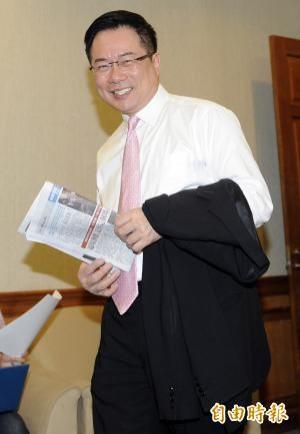 國民黨立委蔡正元又盜圖,再次引起撻伐。(資料照,記者陳志曲攝)