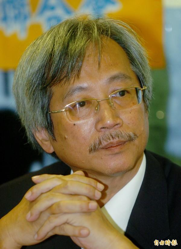 工運大老賴萬枝曾任台灣勞工陣線理事長、銀行員工會全國聯合會理事長等職。(資料照,記者羅沛德攝)