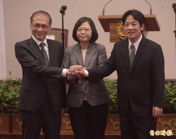 宣布賴清德組閣 蔡總統交付七任務