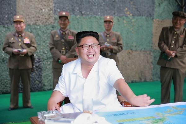 南韓國防部指出,金正恩5年來發射數量更是其父親金正日主政18年(16枚)的兩倍之多。(法新社)