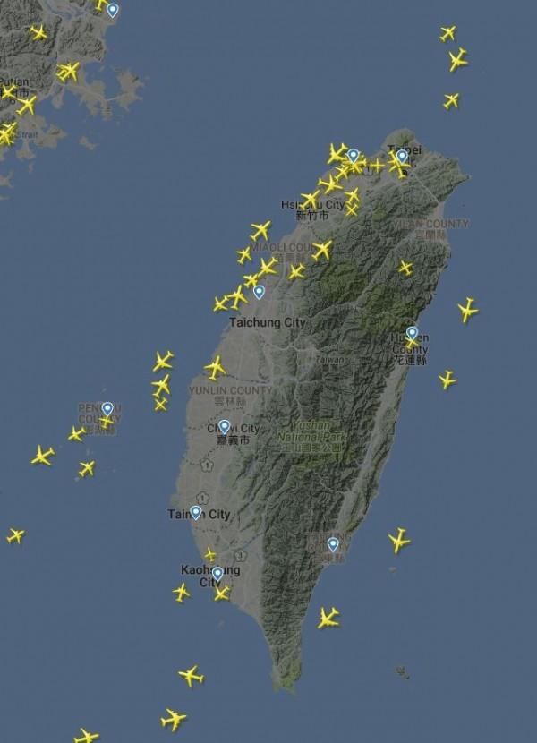 位置太好!去年台灣領空過路費收了20.5億創新高