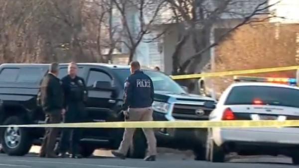 美國猶他州槍擊案1死2傷,嫌犯逃逸中。(圖擷自推特)
