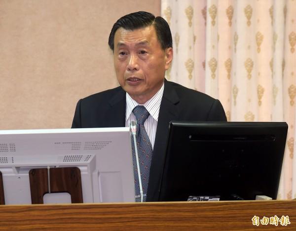 國安局長彭勝竹。(資料照,記者黃耀徵攝)