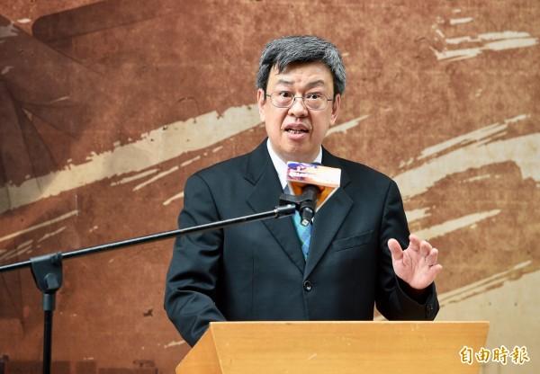 陳建仁表示,年金改革是要讓世代都領得到,而且還要可以領的長久。(資料照,記者羅沛德攝)