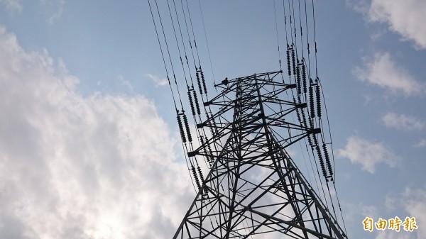 台電高壓電塔。示意圖(資料照)
