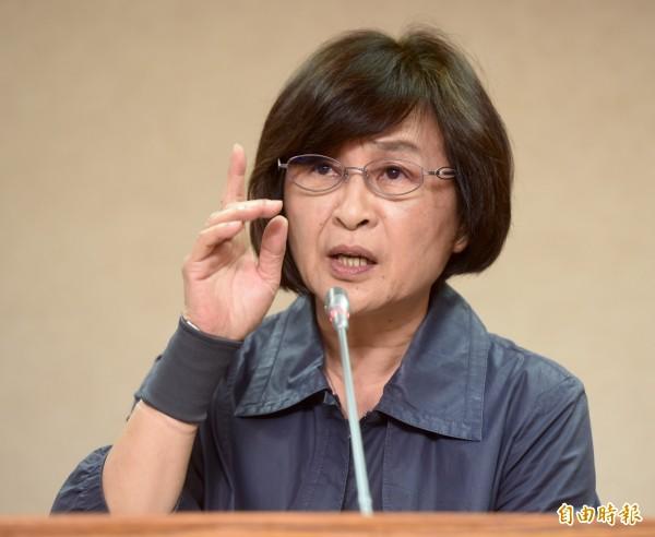 綠委蘇治芬曾擔任過8年的雲林縣長,她直言「雲林窮得就像台灣的非洲」。(資料照,記者簡榮豐攝)