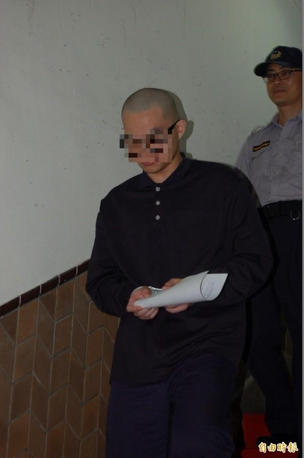 涉姦殺前女友、勒斃女友母的黃姓軍人。(資料照,記者楊國文攝)