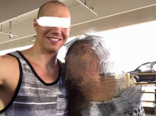 美國一名職業綜合格鬥(MMA)的選手被爆料,來台灣上網約炮,還偷拍性愛影片再上網販售。(圖擷自臉書社團「爆料公社」)