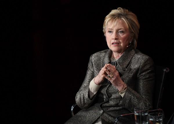 去年在美國大選中敗給川普的民主黨候選人希拉蕊(Hillary Clinton)透露,她未來將不再參選,但仍會繼續從事政治工作。(法新社)
