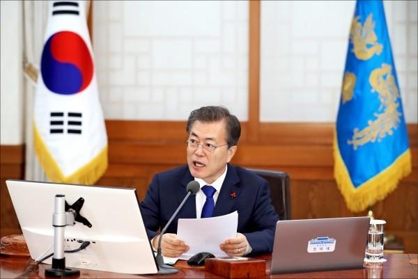 今南韓國家安全保障會議決定,與北韓協商推動重啟兩韓會談。(美聯社)