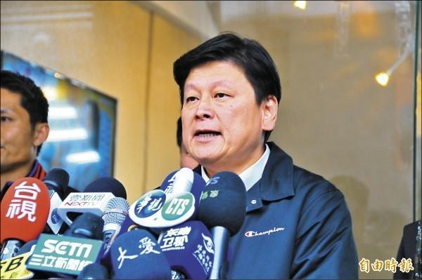 傅崐萁宣布,民間善款將交給紅十字會高層來主導,卻被爆他同時也是紅十字花蓮支會會長。(資料照)