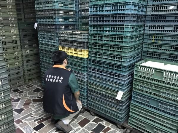 台灣驚傳雞蛋芬普尼含量超標事件。(桃園市衛生局提供)