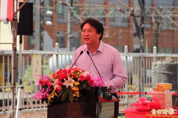 圖為基隆市長林右昌。(資料照,記者林欣漢攝)