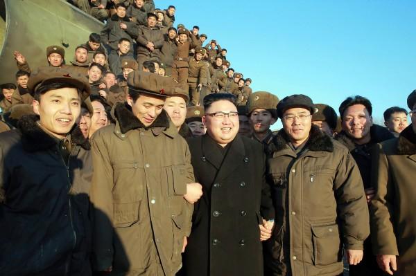 南韓政府機構「統一部」指出,北韓加緊實施「恐怖政治」,目的是為了鞏固北韓最高領導人金正恩的政治體制。(法新社)