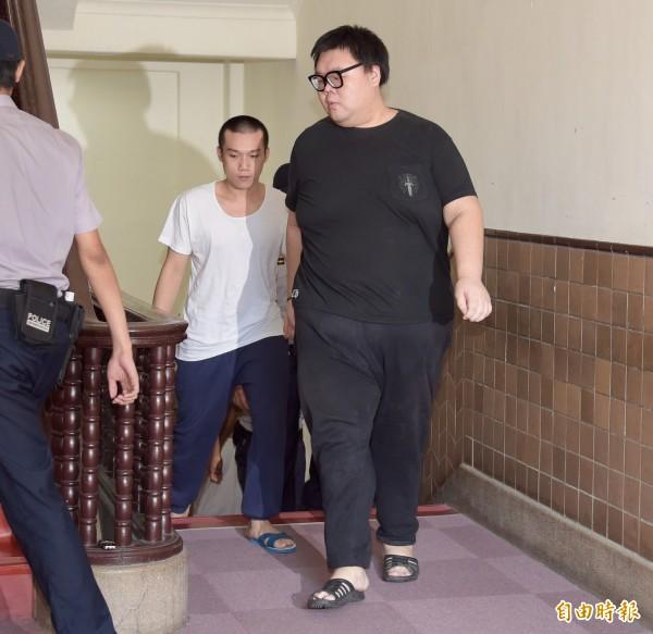 土豪哥朱家龍(右)。(資料照)