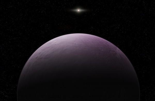 「Farout」與太陽距離約為120AU,公轉週期估計超過1千年。(美聯社)