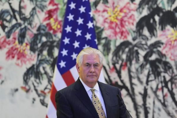 美國國務卿提勒森現正訪問中國,頗受各界矚目。(路透)