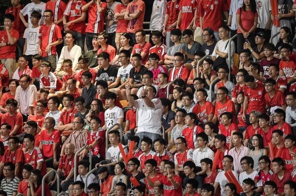 香港在2015年世界盃外圍賽時,就因球迷噓國歌而遭到國際足總開罰。(資料照,法新社)