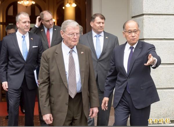 美重量級參議員高喊愛台灣 支持美台軍事互惠