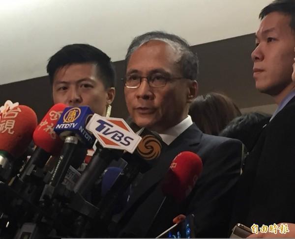 行政院長林全今表示,勞基法修法造成物價上漲是假議題。(記者林筑涵攝)