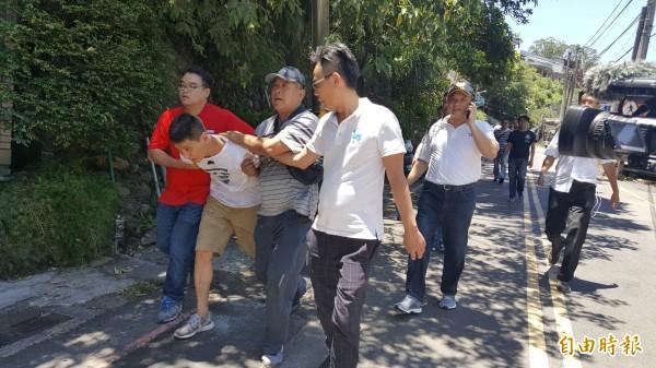 韓籍嫌犯趙準基在新北市烏來溫泉路落網。(資料照,記者姚岳宏翻攝)