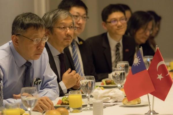Image result for 台北市长柯文哲目前正在土耳其访问,4日晚间到慈济