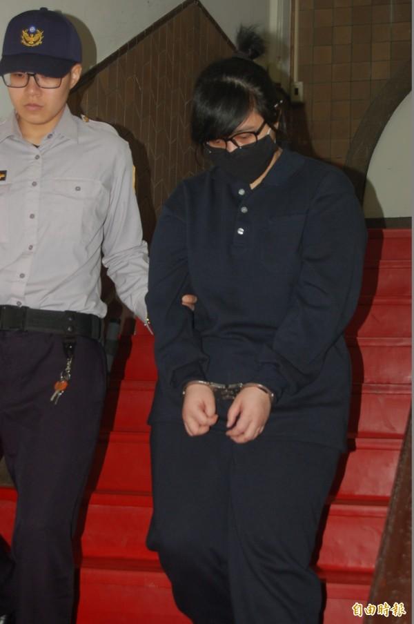 高等法院審理竹東少女遭姦殺焚屍案,今判共犯黃曉雲20年。(記者楊國文攝)