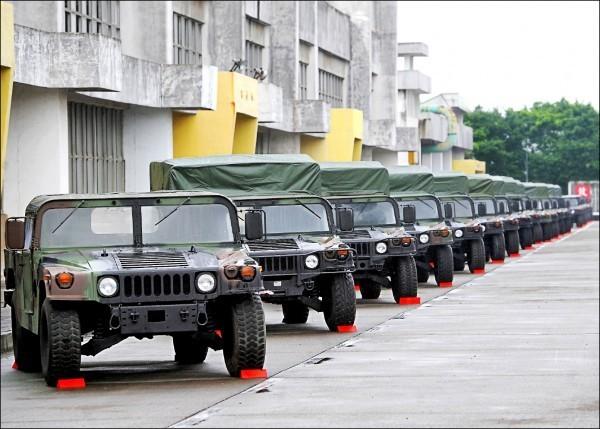 陸軍後勤指揮部汽車基地勤務廠採購爆弊端,有悍馬車零件被換上中國製造的劣質品。(資料照)