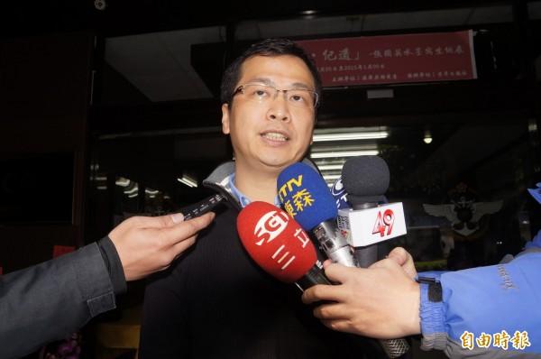 前總統府副秘書長羅智強,肯定總統蔡英文在中國九寨溝地震的態度。(資料照,記者錢利忠攝)