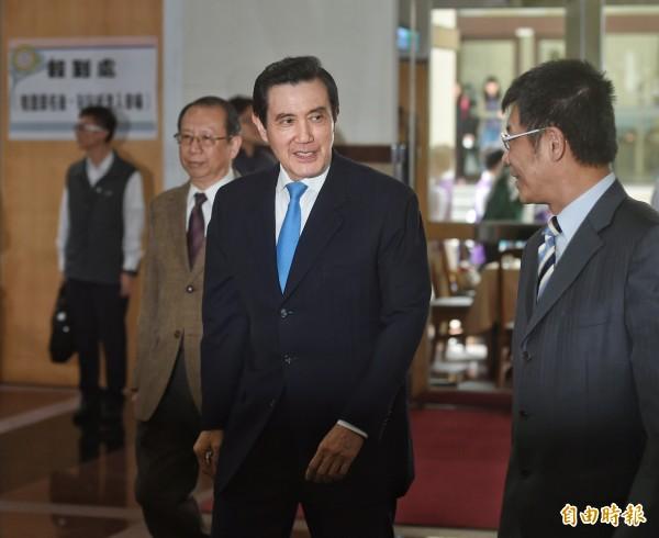 前總統馬英九。(資料照,記者方賓照攝)