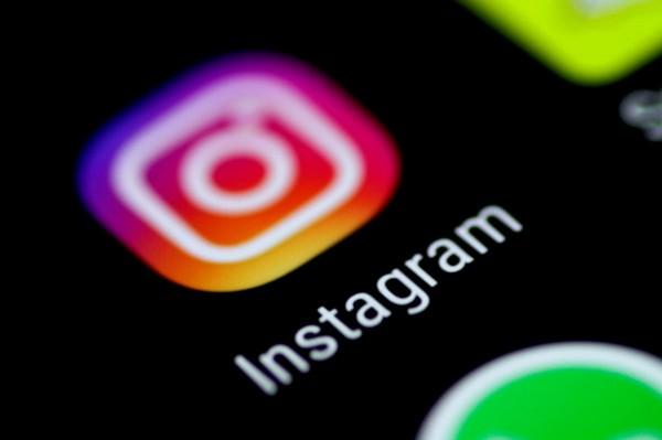 臉書集團的「Instagram」也有類似狀況出現,無法正常使用。(資料照,路透)
