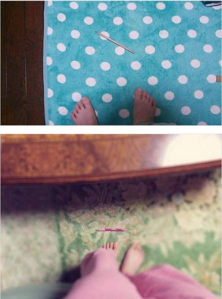 許多日本女網友親身實驗,並拍下夾不住筆的「殘念」照片。(照片擷取自網路)