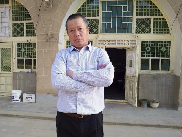 維權律師高智晟長期替弱勢群體發聲,卻在2006年遭北京法院依「煽動顛覆國家政權罪」判刑,今年4月間外流的照片中,高的牙齒更幾乎已經掉光,只能吃流質食物。(美聯社)