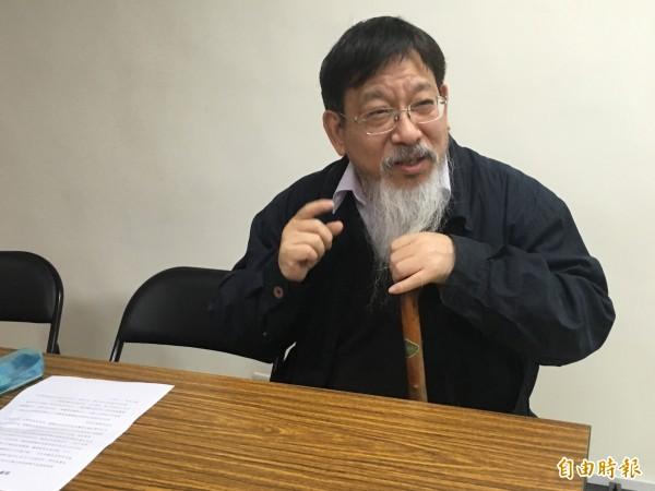 司法改革國是會議委員、律師張靜今天下午將與會宣布退出司改國是會總結會議。(資料照,記者張文川攝)