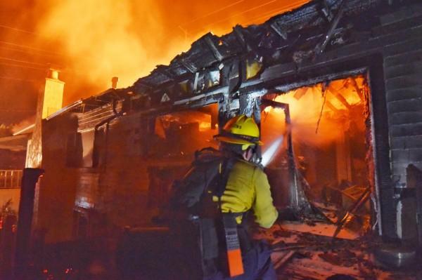 加州地區近日遭野火肆虐。(美聯社)
