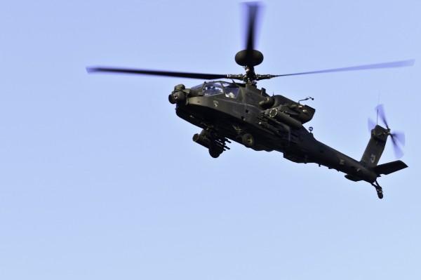 五角大廈強調,出售阿帕契直升機等裝備給印度和提供支持,不會改變這個區域的基本軍事平衡。(法新社)