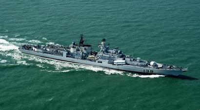俄製現代級驅逐艦「寧波」。(圖擷取中國《海軍360》網站)