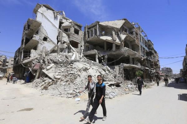 「禁止化学武器组织」虽尚未进入杜马镇进行调查,但叙利亚与俄国皆表示,已准备好配合调查。(法新社)