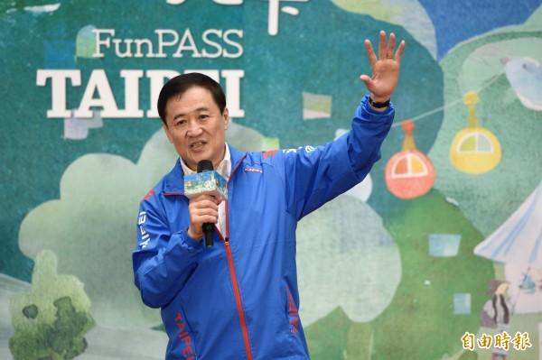 台北市副市長陳景峻力拚參選新北市長選舉。(資料照,記者叢昌瑾攝)