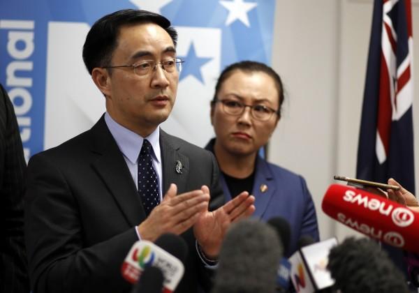紐西蘭國會大選在即,華裔議員楊健陷入「間諜門」,被媒體踢爆曾在中國菁英軍事院校受訓、任職,成為紐西蘭情報單位的調查對象。(美聯社)