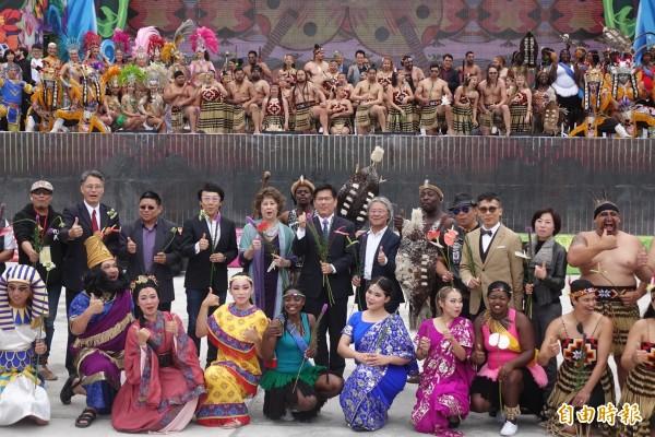 台中世界花博開幕晚會,邀請特色的表演團體,共襄盛舉!(資料照)