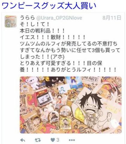 日本網友找出女高中生的推特網站,發現她收藏許多要價不菲的動漫週邊商品。(圖擷取自dokujyoch網站)