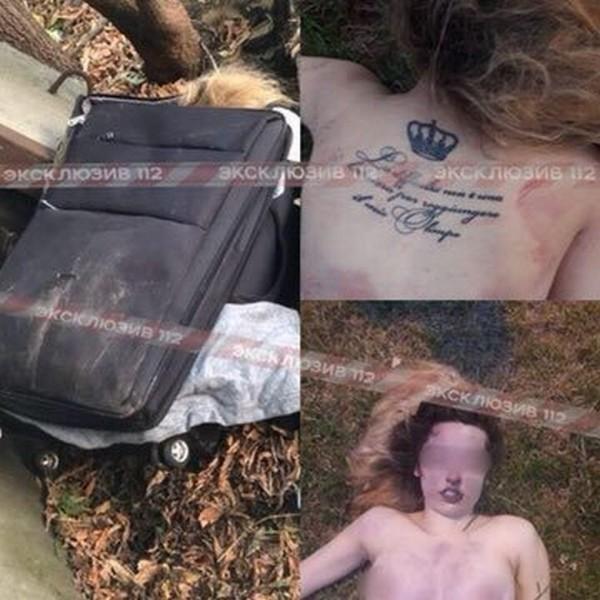 第2名被害者背部有一個皇冠紋身,及一段不明文字。(圖擷取自《俄羅斯犯罪現場》(Crime Russia))