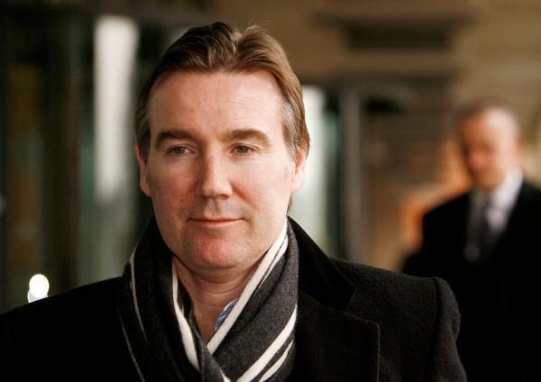 ITV前任執行長夸席爾(Adam Crozier)今年6月已離職。(路透)