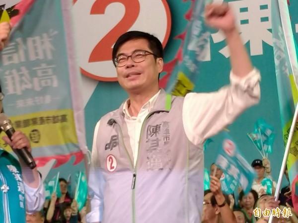 陳其邁宣布辭立委 為高雄拚了