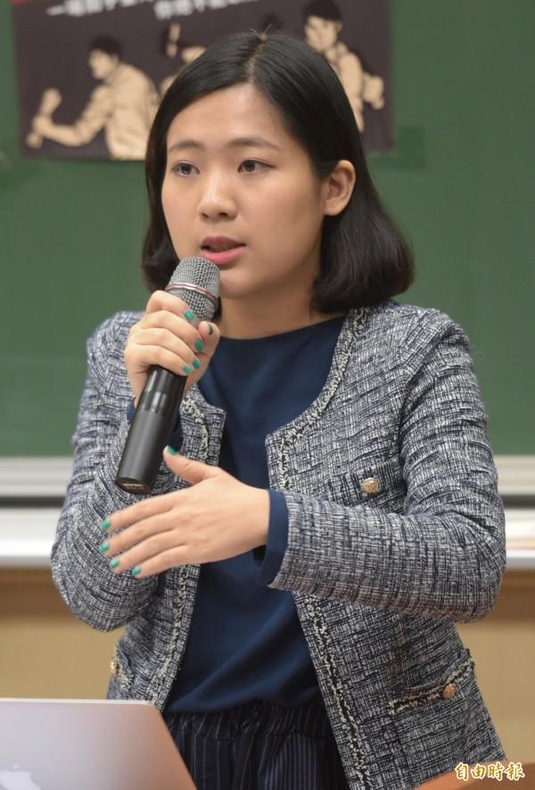 前總統馬英九卸任元首辦公室發言人徐巧芯。(資料照,記者張嘉明攝)