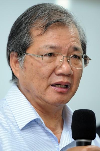 強冠董事長葉文祥將國內購油業務全推給該公司副總戴啟川。(資料照,記者張忠義攝)